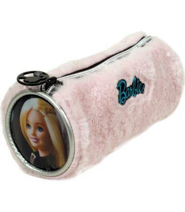 Κασετίνα Βαρελάκι Gim Barbie Fur Fashion