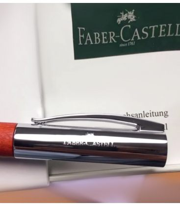 Πένα Faber Castell Ambition Fountain Pen Pearwood Wood Medium Nib