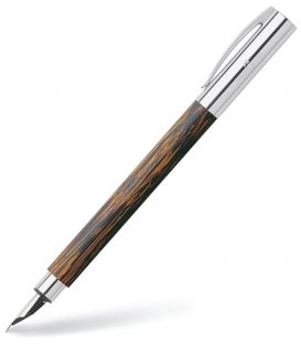 Πένα Faber Castell Ambition Fountain Pen Coconut Wood Medium Nib