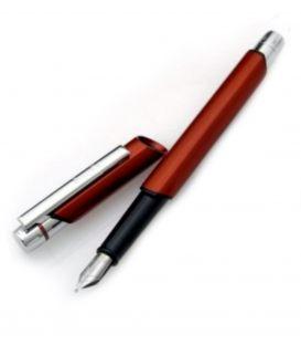 Πένα Rotring Newton fountain pen, orange/brown
