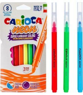 Μαρκαδόροι Carioca 8χρ Neon