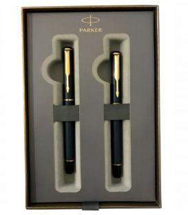 Στυλό και Πένα Σετ Parker Vector blue Mat