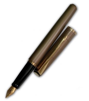 Πένα Parker Latitude fountain pen brown Lines