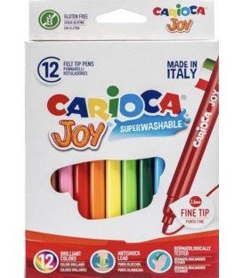 Μαρκαδόροι Carioca 12χρ Joy