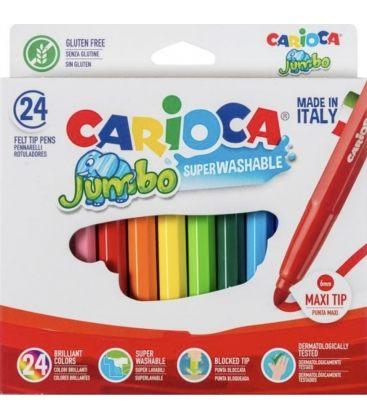 Μαρκαδόροι Carioca 24χρ Jumbo