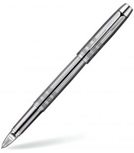 5th Parker I.M. Premium Chiselled Shiny Chrome CT