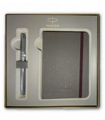 5th Parker I.M. Premium Chiselled Shiny Chrome CT
