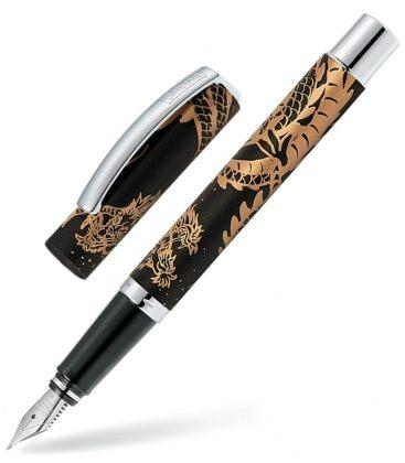 """Πένα Fountain Pen M Vision """"Special Edition"""" Dragon Spirit Black"""