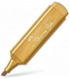 Μαρκαδόρος 46 Faber Castell Υπογράμμισης Metallic Gold