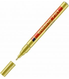 Μαρκαδόρος Edding 751 Λαδιού Χρυσό