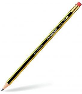 Μολύβι Staedtler Noris με γόμα HB2 120-2