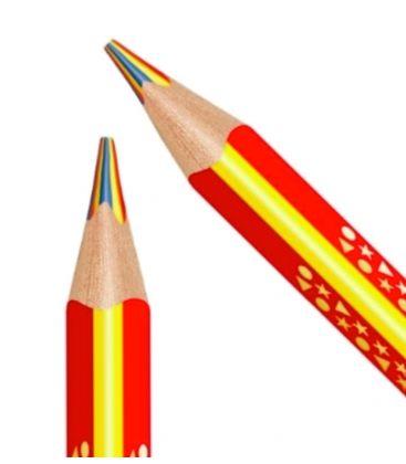 Μολύβι Staedtler Noris Jumbo3 Χρώματα 3color