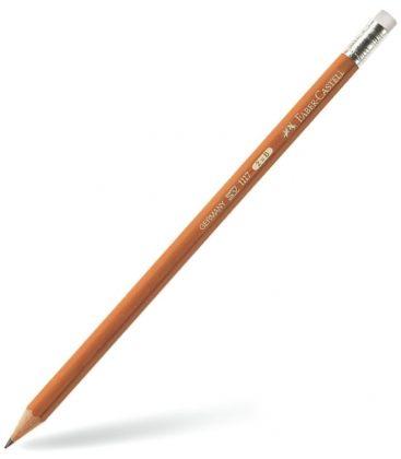 Μολύβι 2B Faber Castell Natural με Γόμα