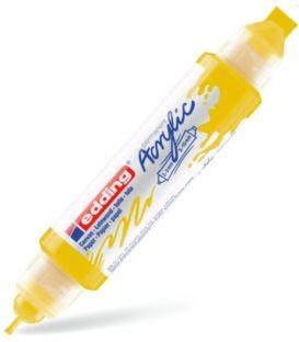 Μαρκαδόρος Edding 5400 Ακρυλικός 2-3/5-10mm Traffic yellow