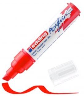 Μαρκαδόρος Edding 5000 Ακρυλικός 5-10mm Traffic red