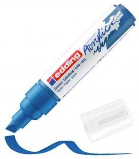 Μαρκαδόρος Edding 5000 Ακρυλικός 5-10mm Gentian blue