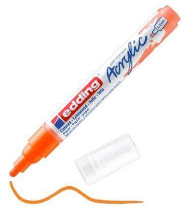 Μαρκαδόρος Edding 5100 Ακρυλικός 2-3mm Fluorescent orange