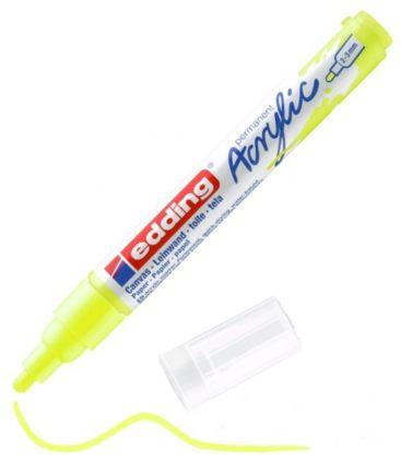 Μαρκαδόρος Edding 5100 Ακρυλικός 2-3mm Fluorescent yellow