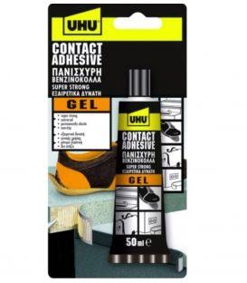 Κόλλα UHU contact gel βενζινόκολλα 50ml