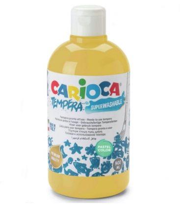 Τέμπερα 500ml Carioca 40 Pastel Yellow