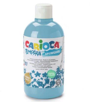 Τέμπερα 500ml Carioca 44 Pastel Azul Cyan