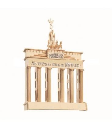 Ξύλινη κατασκευή 3D Brandenburg
