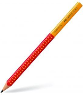 Μολύβι B Faber Castell 111930 Jumbo Grip Κόκκινο Πορτοκαλί