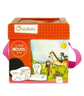 Σφραγιδες stampι mouss ιππασια σετ 10τεμ.