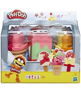 Πλαστελίνη Hasbro Play-Doh Ice Pops N Cones Freezer