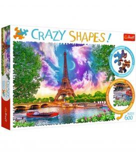 Παζλ 600κ Trefl Crazy Shapes Sky over Paris