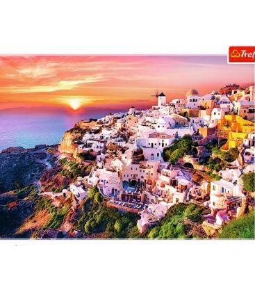 Παζλ 1000κ Trefl Sunset Over Santorini