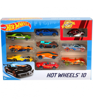 Mattel Αυτοκινητάκια Hot Wheels Σετ Των 10 54886