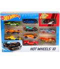 Mattel Αυτοκινητάκια Hot Wheels Σετ 10τ