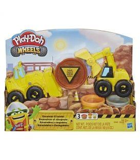 Πλαστελίνη Hasbro Play-Doh Wheels Φορτηγά Οχήματα Κατασκευών