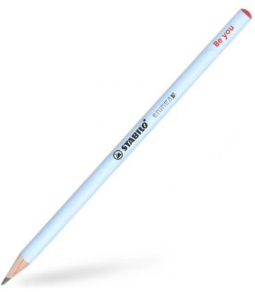 Μολύβι HB Stabilo 424 Scribblz Γαλάζιο Be you