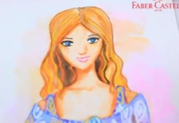 Faber castle - Ακουαρέλα